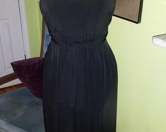 Simply Chic Calvin Klein Black Dress