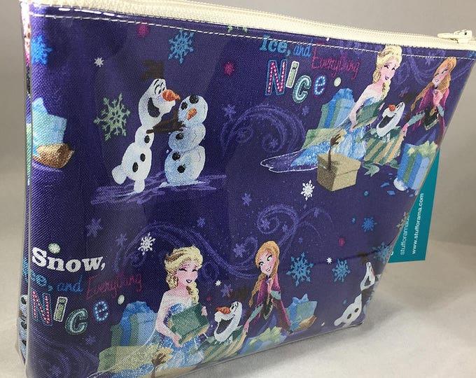Make Up Bag - Frozen: Anna, Elsa, and Olaf