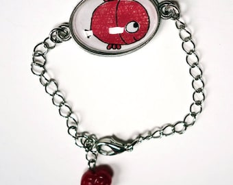 Kids bracelet, goldfish BRe032A