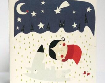 Sleep under the stars C095 card