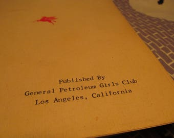 1951 General Petroleum Girls Club cookbook, LA, Flying Red Horse