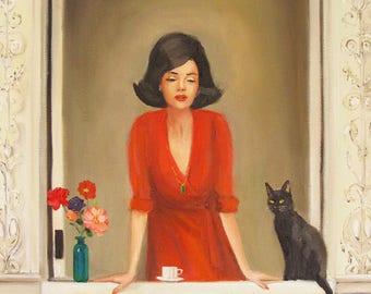 Sylvie And Peridot.  Art Print
