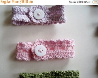 First Fall Sale - 15% Off Rustic Romantic Lace Wrist Band in Peony Pink - Linen Cotton Blend Handmade Lace Bracelet