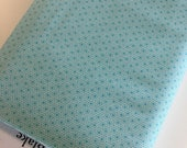 Fabricshoppe GlamperLicious fabric, Camping Camper Fabric, Vintage Camper by Riley Blake, Camper Geo in Aqua