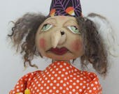 Hideous Helga - Primitive Witch doll