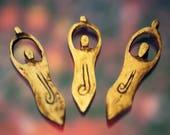 Bone Goddess Pendants 3 + 40 Mixed Bone Bead Assortment for Jewelry Crafters. Jewelry Supplies, Boho, New Age, Zen