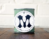 Soy Candle. Gin and Tonic. Scented Vegan Candle. Bar Cart Accessories. Housewarming Gift. Unique Candle Scent.