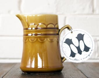 Soy Candle. Wild Honey Scent. Honey Candle. Unique Candle Scent. Scented Vegan Candle. Vintage Creamer. Unique Candle.
