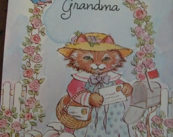Just a note from Grandma Stationery 1992 C M Paula Co