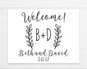 Wedding Welcome Box Stickers, Wedding Bag Labels, Welcome Bag Labels, Destination Weddings, Wedding Favor Stickers, Rustic Wedding Stickers