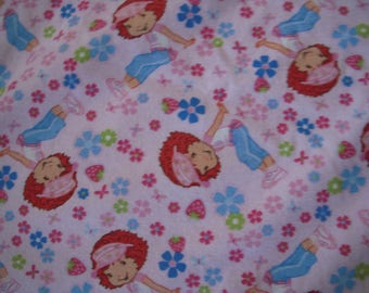 Strawberry Shortcake Toddler/Nap Blanket