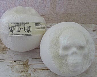 Harry Potter inspired Skele-Gro potion bath bomb