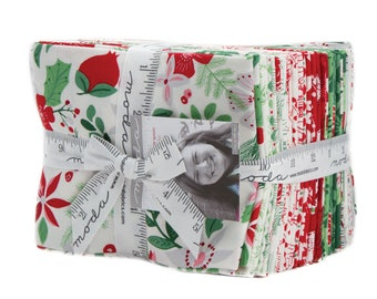 Merry Merry (27270AB) by Kate Spain Fat Quarter Bundle - 27 FQ's