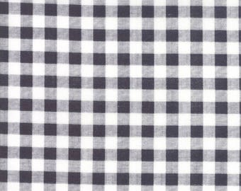 Farmers Daughter (5054 22) Charcoal Gingham by Lella Boutique
