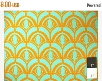 CLEARANCE SALE Anna Marie Horner Home Dec Drawing Room Plume Green 1 Yard