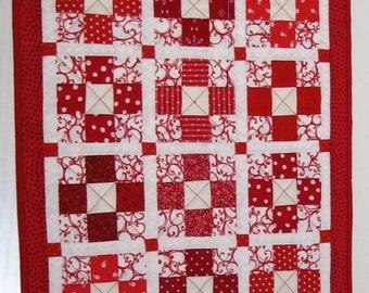 Mini Nine-Patch Quilt