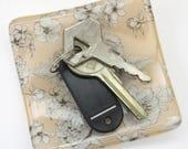 Poppy key tray, tea light...
