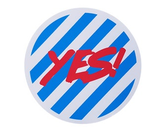 Yes! Sticker