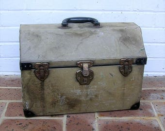Antique Vintage Pet Carrier