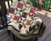 Priced Reduced Crossroads Lap Quilt  Sale