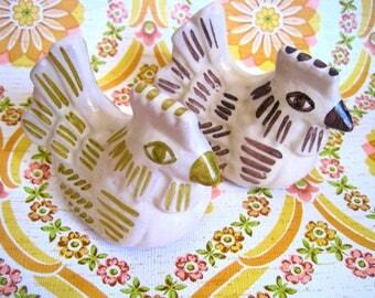 Vintage, Mid Century Modern, Studio Pottery, Love Birds, Italian Handmade, Vietri Italy, Italian Ceramic, Ornaments & Accents,  Ornaments