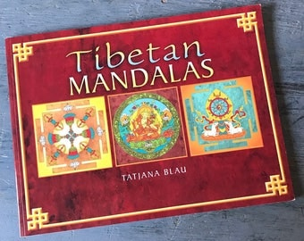 Tibetan Mandalas adult coloring book - Tatjana Blau - Relaxation, Mindfulness, Stress Relief, Creativity