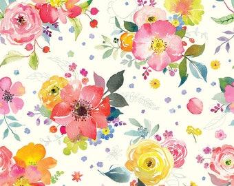 Yorkshire Ivory - Chelsea Market- Brenda Walton - Blend Fabric 100% Quilters Cotton 123.104.01.2
