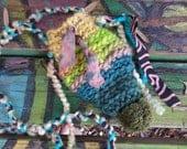 Inhaler pouch, E54, hippie bag, hippie pouch, festival bag, stash bag, crystal bag, money bag, medicine bag, pouch necklace, small pouch