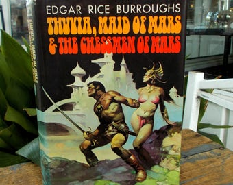 Thuvia, Maid of Mars and The Chessmen of Mars Hardcover By By Edgar Rice Burroughs