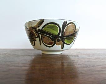 Ellen Malmer Royal Copenhagen, Danish Modern, Denmark Pottery, Rare Mid Century Faience Bowl