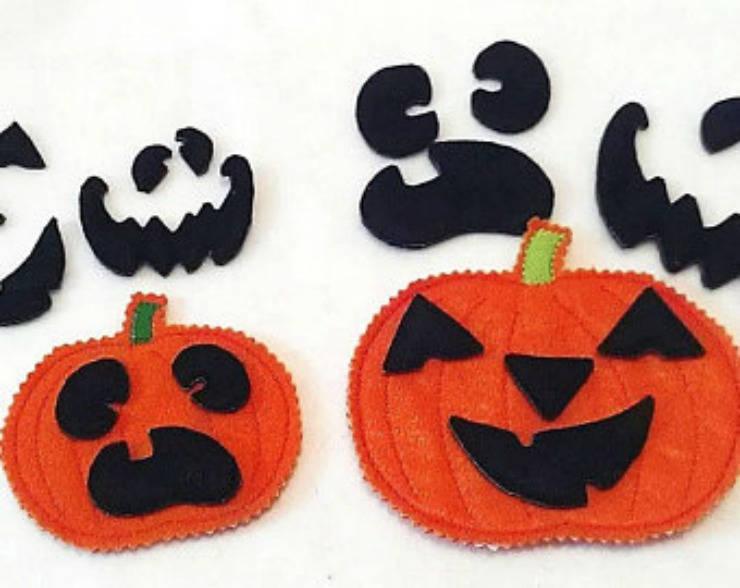Halloween treat bags Halloween gifts Build a Pumpkin game