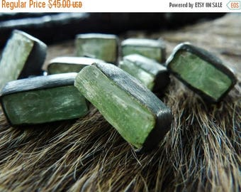 Kyanite earrings   Kyanite studs   Green kyanite earrings   Rough kyanite studs   Rough stone earrings   Green stone earrings