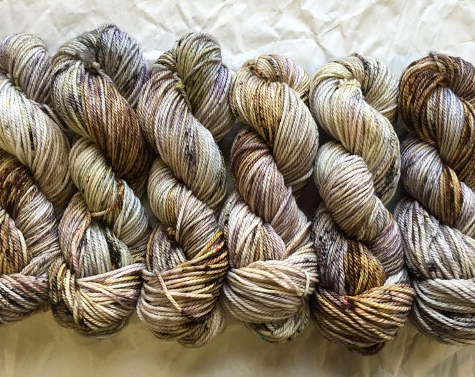 NEW merino aran - neutrals with a chance of color