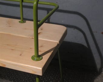 SUMMER SALE Panka - Indoor/ outdoor bench  New version in different colors frame