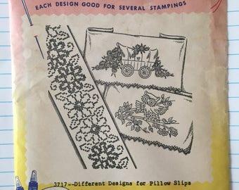 Vintage iron-on transfer patterns