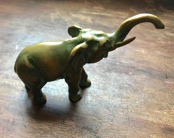 Sweet Little Brass Elephant