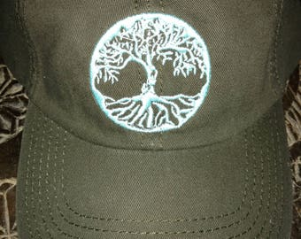 Tree of Life Cotton Hats