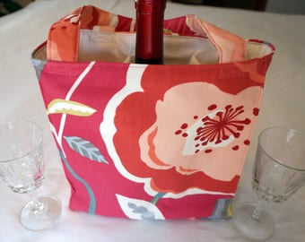 3 Pocket Bag For Winery Hopping, Soccer, Baseball, Lacrosse, Crafts and the Beach