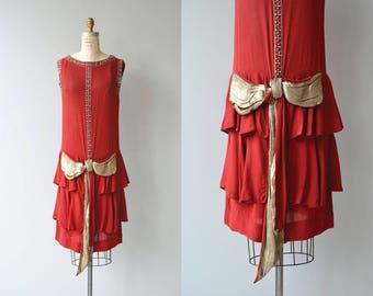 Jeanne d'Arc dress | vintage 1920s dress | beaded 20s dress