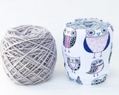 Owl Yarn Bowl- Owl Yarn Holder- Yarn Organizer- Yarn Storage- Yarn Cozy- Crochet Accessories- Skein Coats- Knitting- Gifts for Owl Lovers