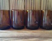 YAVA Glass - Upcycled Modelo Beer Bottle Glasses (Set of 4)