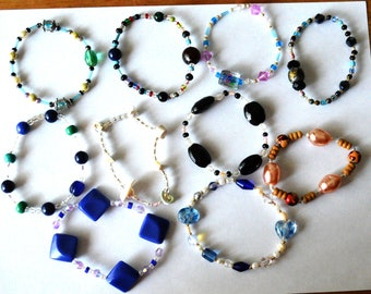 10 Handmade Bracelets Lot #2