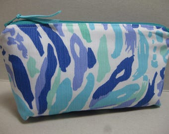 Lilly Pulitzer Pencil Case/Make Up Bag/Cosmetic Bag (Nice Ink) Sorority Gift/Gift for Her/ Bridesmaid Gift