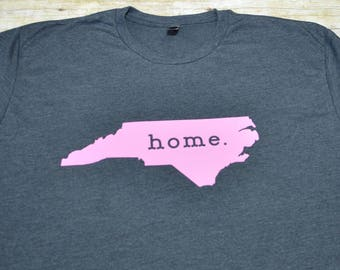 NC home shirt, North carolina shirt, state shirt, workout tank