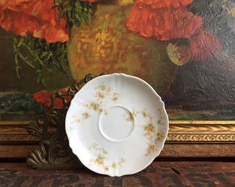 Small Plate Vintage White Ceramic Dish Limoges