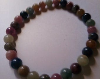 Sunstone bracelet for a wrist of 6&1/2 inches 5mm stones