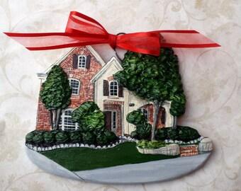 Custom listing for ALexiaX.- one Custom House Ornament