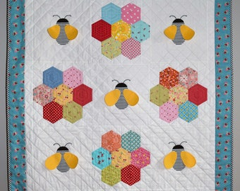 Baby Bee Quilt Kit