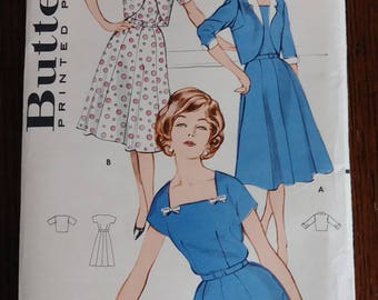 Butterick 9271 Women's Dress and Jacket Pattern Size 18 Bust 38 Mad Men Jackie O