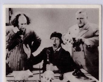 1974 Three Stooges Sticker PHONES